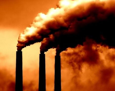 Carbon pollution contributes to man-made environmental disaster