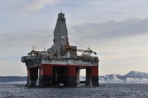 Gazprom's Polarstar platform (Photo: Gazprom.ru)