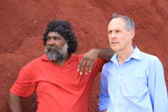 Joe Roe and Bob Brown (Photo: Supplied)