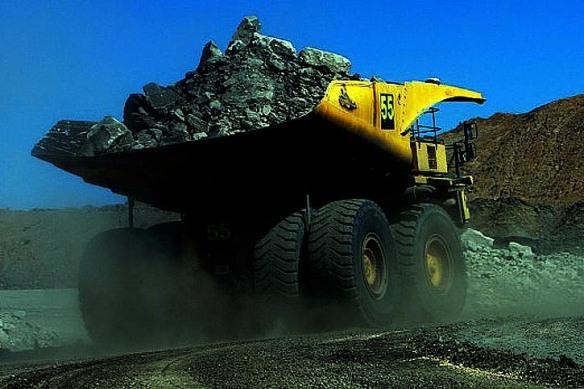 Adani's activity in the Carmichael mine. (Photo:Supplied)