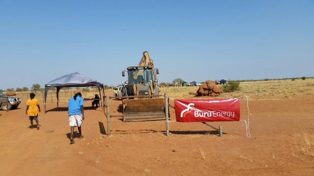 Buru Energy's operation in Western Australia. (Photo: Supplied)